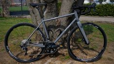 Gravel bike (Audi grey)   HBM  Bike Factory -  Vignole Borbera (AL) Italy