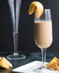 Your future is looking good with this incredible Fortune Cookie Cocktail.