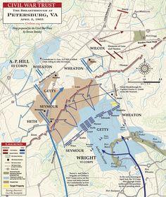The Breakthrough at Petersburg, 2 April 1865