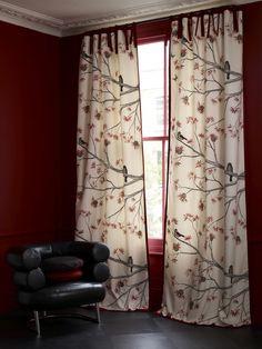 Curtain Idea for Livingroom