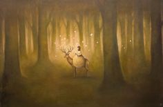 Duy Huynh -- Paintings- rare light of the woods