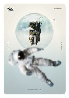 my work! #music  #poster #art #design #vanilia #matteopodini #astronaut #space