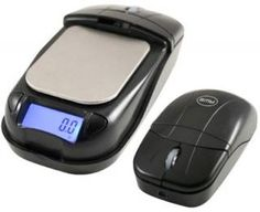 new fun cool high technology latest computer usb gadgets optical mouse scale Optical Mouse Flips Open to Become a Digital Scale