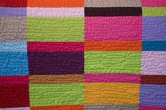 great allover quilting pattern that gives a similar look to straight line quilting.