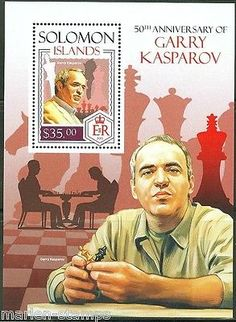 Solomon #islands  2014 50th birth #anniversary of #garry kasparov chess s/s mint ,  View more on the LINK: 	http://www.zeppy.io/product/gb/2/131290449322/