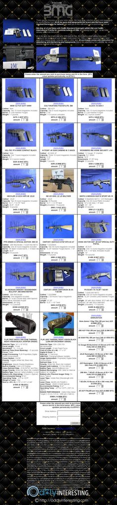 Weapon Vendor 6 | The Latest Oddities Dark Net, First Site, Weapons, Image, Weapons Guns, Guns, Weapon