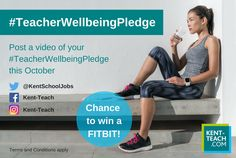 Calling all Teachers, enter our Competition for a chance to win a Fitbit! #TeacherWellbeingPledge