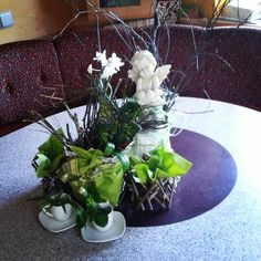 Table Decorations, Plants, Furniture, Home Decoration, Flora, Home Furnishings, Plant, Arredamento, Dinner Table Decorations