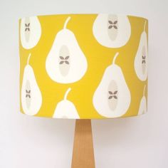 pear lampshade by louise brainwood | notonthehighstreet.com