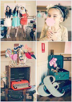 13 chá de panela lingerie decoração vintage