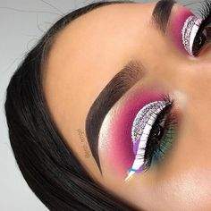 Mar 2020 - Browse the top-ranked list of Colorful Makeup. See more ideas about Makeup, Colorful makeup and Makeup inspiration. Makeup On Fleek, Glam Makeup, Skin Makeup, Makeup Inspo, Eyeshadow Makeup, Makeup Art, Makeup Inspiration, Beauty Makeup, Eyeliner
