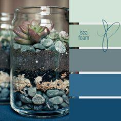 Inspiratiebeeld Colours and Textures/Kleuren en Texturen Palettes Color, Colour Pallette, Colour Schemes, Color Combinations, Design Seeds, Colour Board, Color Stories, Color Theory, Sea Foam