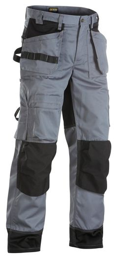 Blaklader Cordura Knee Pad Work Trousers with Nail Pockets (PolyCotton) - 1504