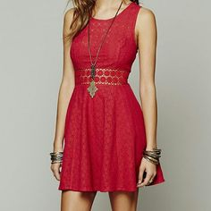 Free People Gourgous Sunflower Dress Tibetan Red Free People Dresses Mini