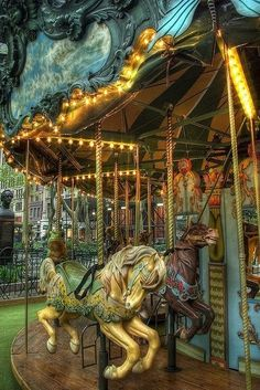 All Carousels are magical & bring smiles to all who ride them as well as to those watching the riders !