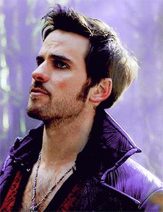 Hmm, what is he saying...red vest means Camelot... Colin O'Donoghue - Killian Jones -Captain Hook - Once Upon A Time