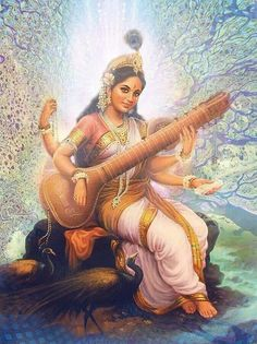 Goddess Saraswati...