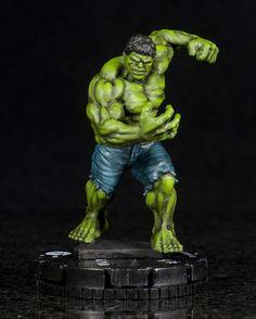 HeroClix - Incredible Avenger (Hulk) my inner geek just smiled :)