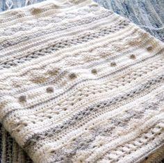 Crochet Blocks, Afghan Crochet Patterns, Crochet Squares, Crochet Stitches, Knitting Patterns, Baby Blanket Crochet, Crochet Baby, Crochet Blankets, Crotchet