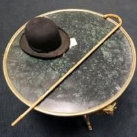 Chaplin's hat and stick