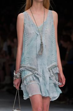 """Roberto Cavalli Spring 2014 - Details (=^.^=) Thanks, Pinterest Pinners, for stopping by, viewing, re-pinning, & following my boards.  Have a beautiful day! ^..^ and """"Feel free to share on Pinterest ^..^  #women #topfashion #fashionandclothingblog"""