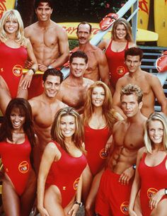 Remember when Carmen Electra joined the best eye candy on 90's television, also know as the cast of Baywatch? We do.