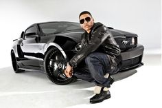 Nelly with 2011 Mustang
