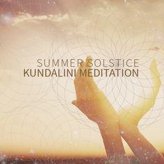 Kundalini Yoga promo. Sacred Geometry. Hand Mudra. Sunrise. Sunset. Creativity. Graphic Design.