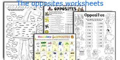 The opposites worksheets