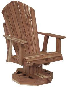 Tree Furniture, Outdoor Furniture, Backyard Seating, Patio, Swivel Glider Chair, Outdoor Ideas, Outdoor Decor, Swinging Chair, Oak Tree