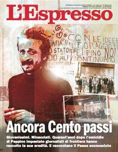 La copertina dell'Espresso in edicola da domenica 29 aprile