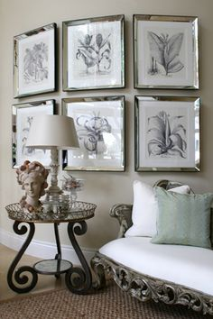 you CAN hang art on a curved wall! Interior Design Tips, Interior Decorating, Decorating Ideas, Decor Ideas, Staircase Makeover, Curved Walls, Railing Design, Interior Stairs, Hanging Art