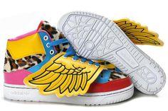 the latest b5a68 d17bd Officiel Adidas Originals By Jeremy Scott X Js Ailes Chaussures (Basket Pas  Cher Adidas)
