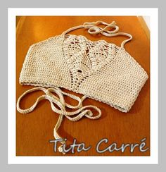 Tita Carré  Agulha e Tricot : Top Opala em crochet