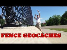 3 AWESOME FENCE GEOCACHES! There are a couple of caches in this vid. but the one I am drawing attention to the one at 2:08. Great idea! :)