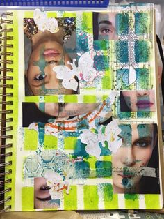 Carmen B. Norris: Art Challenge- 15 Days of 15 minute Mixed Media-4/...