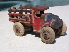 1920's - 1930's Cast Iron Truck