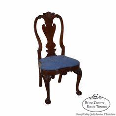 Kindel Winterthur Philadelphia Queen Anne Side Chair (A) #Chippendale#furniture #home #homedecor #decor #homedesign #interior #interiordesign #antiques #antique #vintage #ebay #ebayseller #etsy #etsyseller #chairish #twitter #facebook #pinterest #instagram #google #google+ #googleplus #bucks #buckscounty #PA #BucksCoET