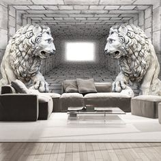 Fototapete wohnzimmer 3d  VLIES FOTOTAPETE TAPETEN XXL WANDBILDER TAPETE 3D TUNNEL KUGEL a-B ...