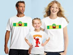Custom Elmo shirts