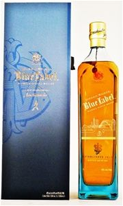 Johnnie Walker `Blue Label Sydney Skyline` Scotch Whisky (1x1Ltr), Scotland