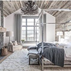 ♡ ᒪOᑌIᔕE ♡ ABSOLUTE PERFECTION!! - LOVE THE DARK GREY THROW AND GLORIOUS CEILING!! ⚜