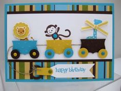 Stampin Up Demonstrator UK: All Aboard the Jelly Train