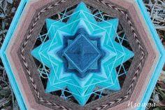 Mandala Ojos de Dios. By Isolda Mandalas (Tatiana Slinka) https://www.facebook.com/IsoldaMandalas