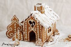 Nice discussion. Finnish gingerbread (by PureVegetarian) -- love the piping -- looks like piping a thin line then putting a dot on each side of line and pulling dots down and in towards line to make the hearts