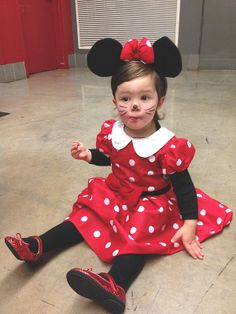 Minnie Mouse? She was the only one in a sea of princesses