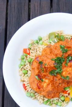 This Chicken Tikka Masala is a delicious fakeaway recipe perfect for cooking with kids. A simple to follow authentic recipe for Chicken Tikka Masala.