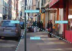 Safári Urbano: metodologia para avaliação de calçadas