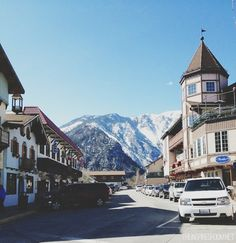 Leavenworth, Washington in the Cascades