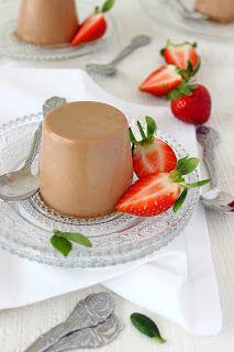 Panna cotta van melkchocolade